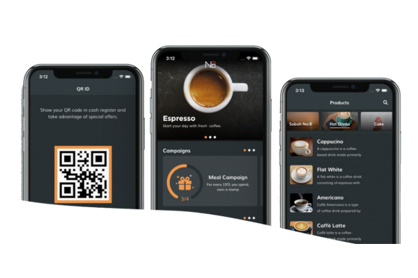 Simpra restaurant software for Android and iOS